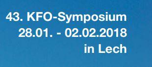 43. KFO-Symposium in Lech - Reif & Kollegen Gmbh