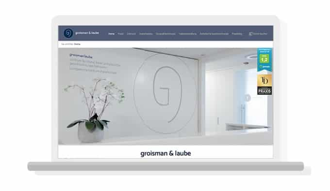 Referenz Groisman Laube I docleads