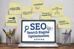 Bereiche der Suchmaschinenoptimierung von Webseiten